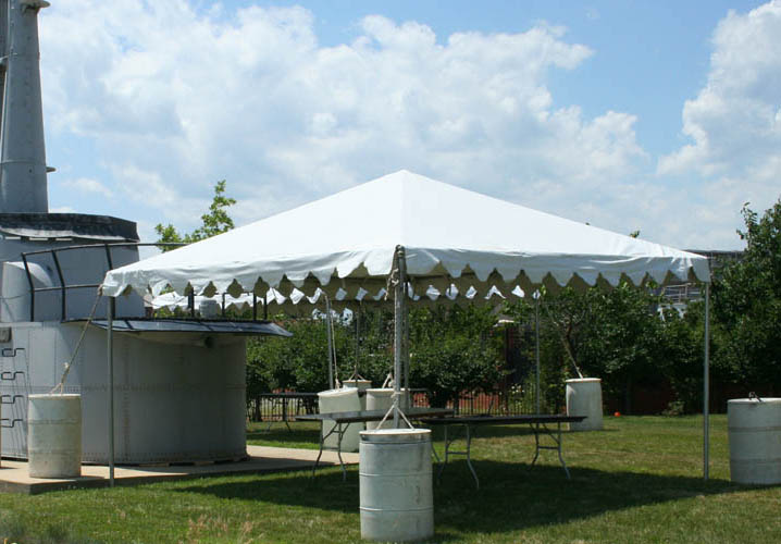 15u0027 x 15u0027 Frame-Type Tent & Tent Rentals for Parties and Events | Brooke Rental Center