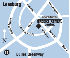 Brooke Rental Center - Leesburg Location
