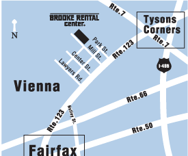 Brooke Rental Center - Vienna Location